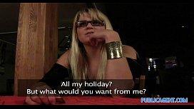 PublicAgent HD Blonde Cafe...