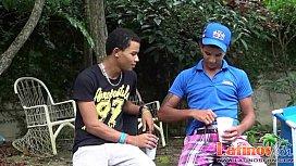 Two Latin gay mates...