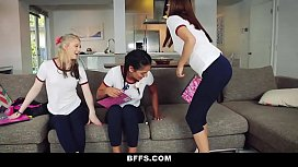 BFFS - Naughty teen Tutors...