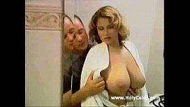 Cassandra enjoying a shower...