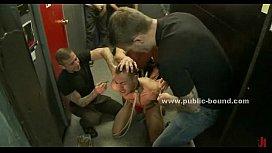 Gay studs in public...