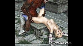 Demons Fucking 3D Babes...