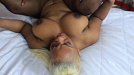 Sexy ebony threesome...