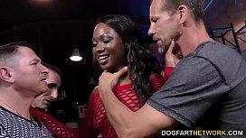 Ebony Skyler Nicole enjoys...