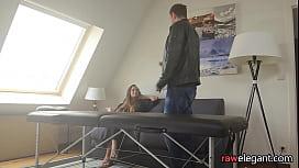 Massaged milf babe getting...
