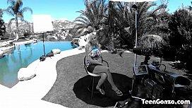 TEENGONZO Blonde MILF Nina...