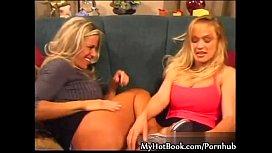Kim Chambers and Tanya...