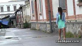 Fresh girls filmed taking...