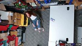 Redhead amateur teen caught...