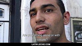 LatinLeche - Shy Latin straight...