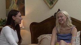 American lesbians Aidra Fox...