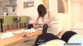 Noriko Aota and girlfriend amazing cock suckers
