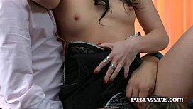 Taissia Shanti Gets Sticky...