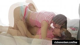Sexy lesbian teens sharing...