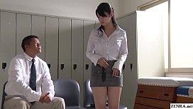 JAV star turned teacher...