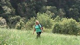 In montagna con mamma...