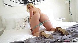 Blonde AJ Applegate Gets...