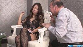 Satomi Suzuki feels more...