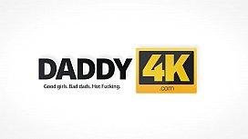 DADDY4K. Dad and young girl sex culminates with nice facial cumshot