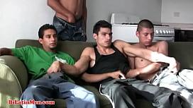 Hot bisexual 4 way...