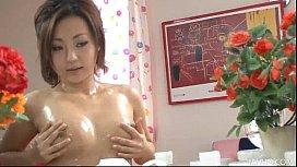 Yuu Shiraishi oiled up...