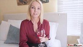Blonde stepmother appreciation sex...