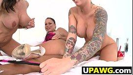 Nikki Delano with Christy...
