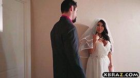 Huge tits bride cheats...