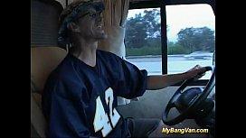 My bang van hard...