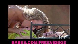Beautiful blond girlfriends Nicole...