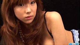 Serina Hayakawa sucks cock...