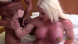 Naked Female Bodybuilder Muscle...