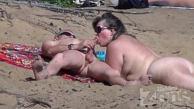 Bokep sex on the beach – fuck  gadis in the sun blowjob_on_a_nudist_beach