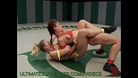 Ultimate surrender wrestling...