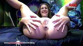 Czech babe Alexis Crystal...