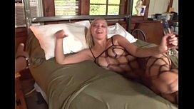 Annette facesitting in lingerie...