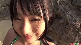 Megumi Haruka tries cock...