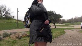 Crazy Sarahs public nudity...