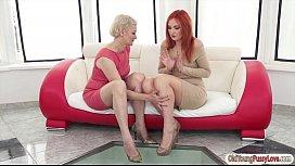 Russian redhead Eva Berger...