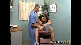 Horny patient Phenix gets...