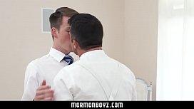 MormonBoyz - Ginger bottom passionately...