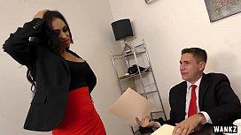 WANKZ- Milf Boss Claudia...