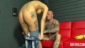 Tattooed german honey take...