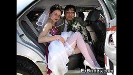 Real Exhibitionist Brides!