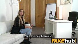 Fake Agent German girl...