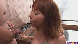 A japanese group sex video with MILF ...