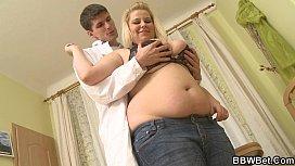 Busty fat girl skinny...