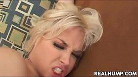 Blonde bombshell Sarah Vandella...