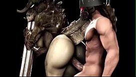 3d Mmorpg Sex When Monsters Proform Hardcore Sex