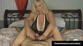 Busty Blonde Milf Charlee...